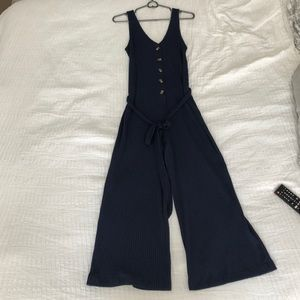 NWT Navy Jumpsuit